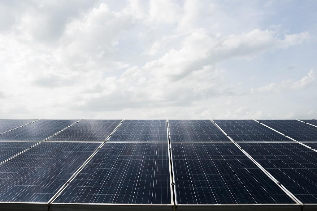 Paneles solares en hospitales